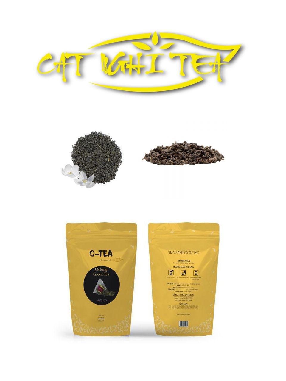 Công ty cung cấp trà Cát Nghi